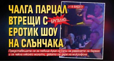 Брутално: Чалга парцал втрещи с еротик шоу на Слънчака
