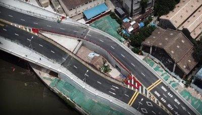 УНИКУМ! Китай измести магистрала заради съборетина