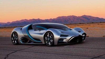 Hyperion XP-1 - суперавтомобилът на водород, който изпуска само водни пари