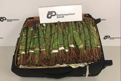 Израелки спипани с 5 куфара упойваща трева кхат