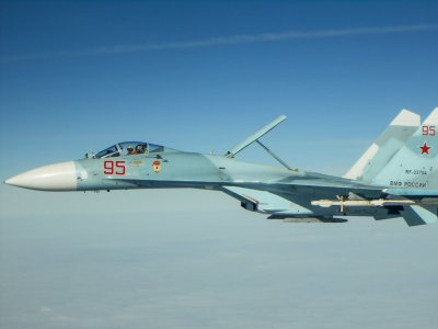 Руски Су-27 прихвана натовски самолета над Черно море