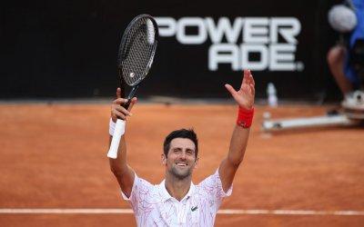 Новак Джокович се класира на десети финал в Рим