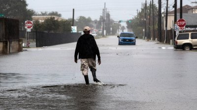 Бурята Бета удари Тексас