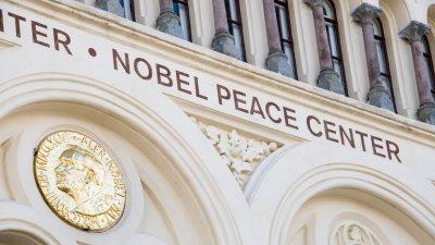 Скромна церемония за връчването на Нобеловата награда за мир