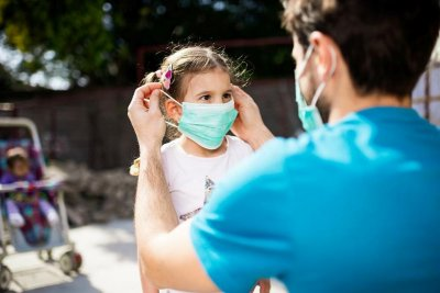 С деца на градина/училище по време на пандемия