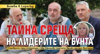 Бомба в Lupa.bg: Тайна среща на лидерите на бунта