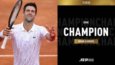 Ноле триумфира в Рим!