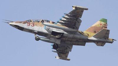 Първите 2 ремонтирани самолети Су-25 вече са у нас