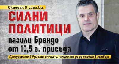 Скандал в Lupa.bg: Силни политици пазили Брендо от 10,5 г. присъда