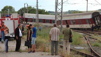 5 г. затвор за машинист заради дерайлирал влак