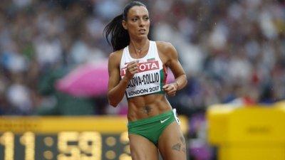 Ивет Лалова спечели спринта на 100 метра в Испания