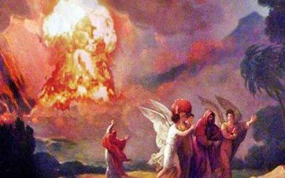 Содом и Гомор може да са ликвидирани с ядрен взрив