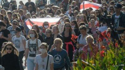 95 задържани на протестите в Беларус