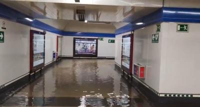 Като у нас: Метрото в Мадрид се наводни
