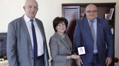 Цвета Караянчева е на посещение във Видин