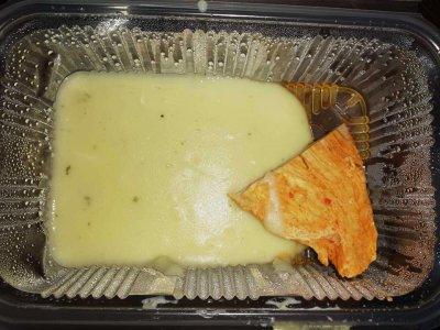 Гавра в училищен стол - вижте с какво хранят децата