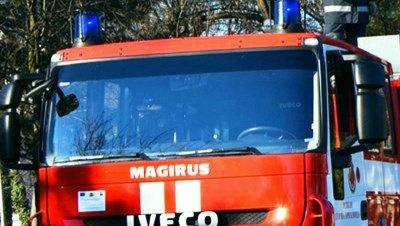 Голям пожар в Старозагорско