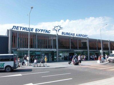 80% по-малко пътници на бургаското летище