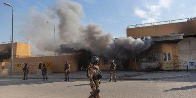 Ракета уби жени и деца в Багдад