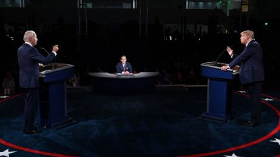 Франс прес: Дебатите Тръмп-Байдън се превърнаха в хаотичен спектакъл