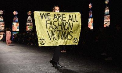 Протестиращ от активистко движение нахлу на дефилето на Dior