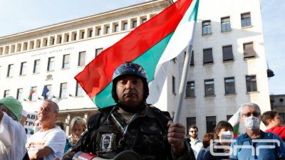 Протест и антипротест пред агенция ПИК