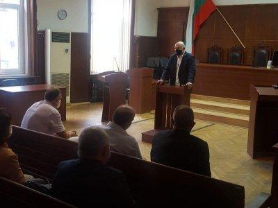 Иван Гешев проведе среща с прокурорите от Хасково
