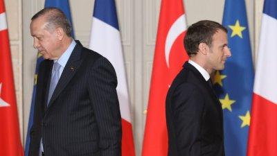 Ердоган нагъл: Макрон е за психотерапия
