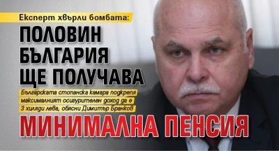Експерт хвърли бомбата: Половин България ще получава минимална пенсия