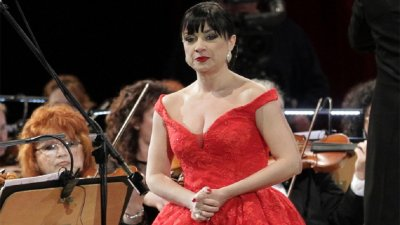 Пендачанска като лейди Макбет на сцената на Софийската опера