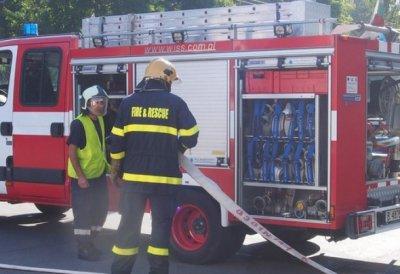 Късо съединение подпали хотел и къща във Варна