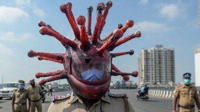 Не носиш маска? Виж как бият в Индия! (БРУТАЛНО ВИДЕО)