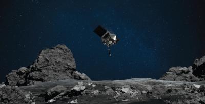 Сондата OSIRIS се натъпка с астероид