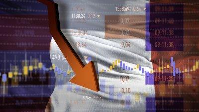 Рязко свиване на икономиката очаква Франция през 2020 г.