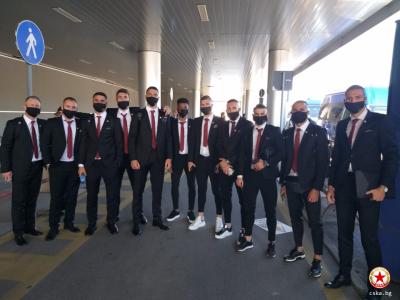 В Рим като римляните: ЦСКА пристигна стилно във Вечния град