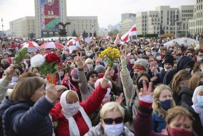 """Лукашенко видя """"терористи"""" в лицето на протестиращите"""