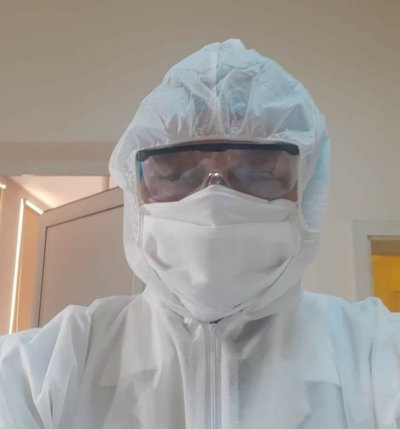 БРАВО: Депутат от ГЕРБ стана доброволец в COVID-зона