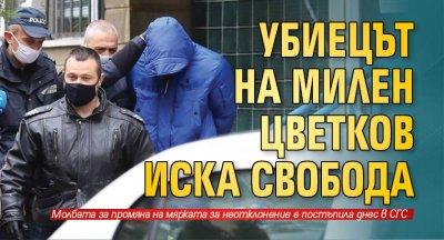 Убиецът на Милен Цветков иска свобода