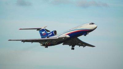 Русия се сбогува с легендарния Ту-154