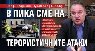 Проф. Владимир Чуков пред Lupa.bg: В пика сме на терористичните атаки