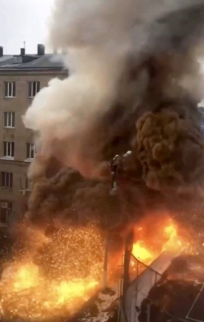 Взрив евакуира COVID-болница в Русия