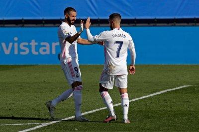 Азар вкара след 392 дни, Реал Мадрид би убедително