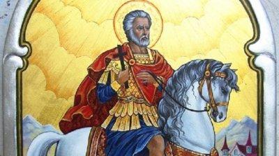 Свети Мина лекува и закриля