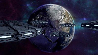 Камерите на МКС пак снимат флотилия от НЛО