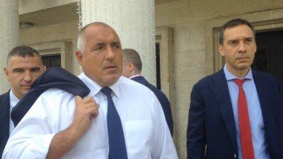 Борисов, а не Цветанов водил предизборния щаб на ГЕРБ