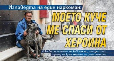 Изповедта на един наркоман: Моето куче ме спаси от хероина