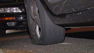 Над 30 коли с нарязани гуми в столицата