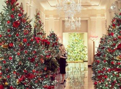 Мелани Тръмп показа украсата за Коледа