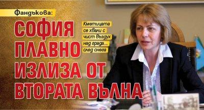 Фандъкова: София плавно излиза от втората вълна