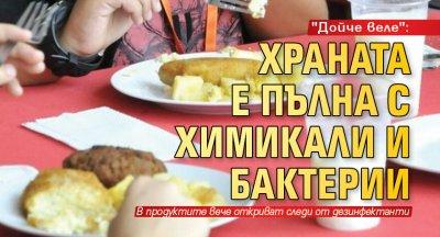 """""""Дойче веле"""": Храната е пълна с химикали и бактерии"""